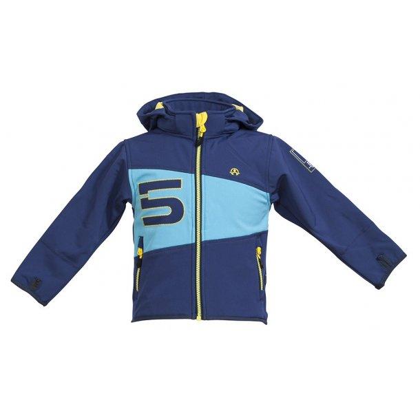 Blå no. 5 softshell